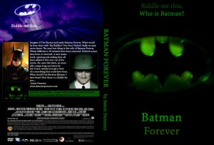 DVD art for Batman Forever Darker cut